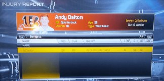 Andy Dalton Injured