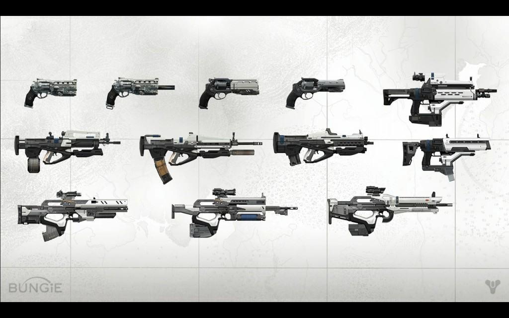 destiny armor piercing weapons