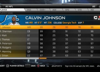 madden15 player attributes