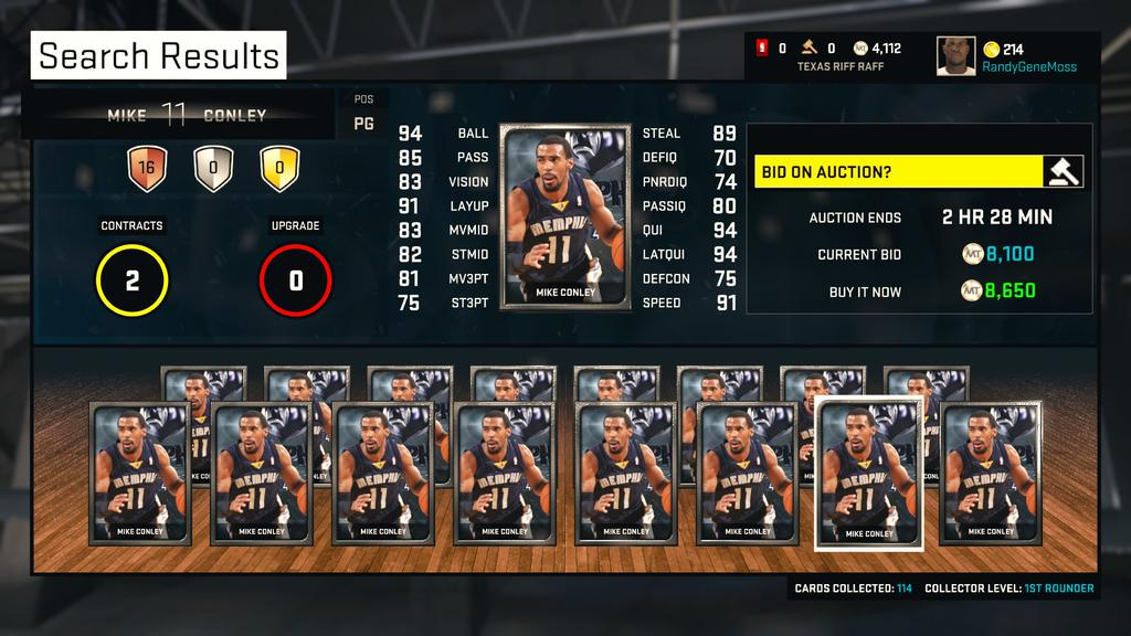 NBA2K15_MyTeam_Tips_Best_Silver_Players_Mike_Conley