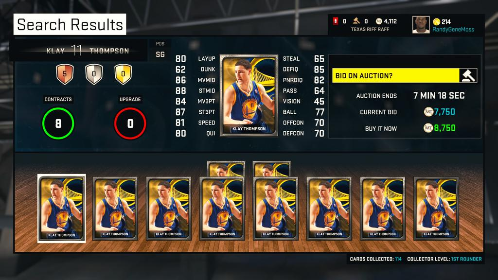 NBA2K15_MyTeam_Tips_Best_Silver_Players_Klay_Thompson
