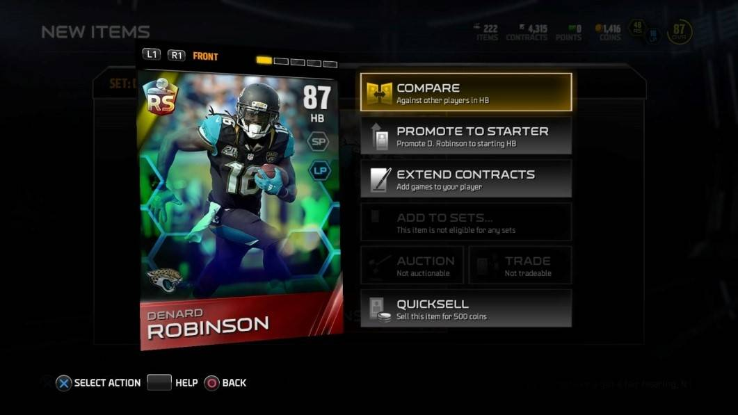 madden15 ultimate_team_Tips_denard_robinson