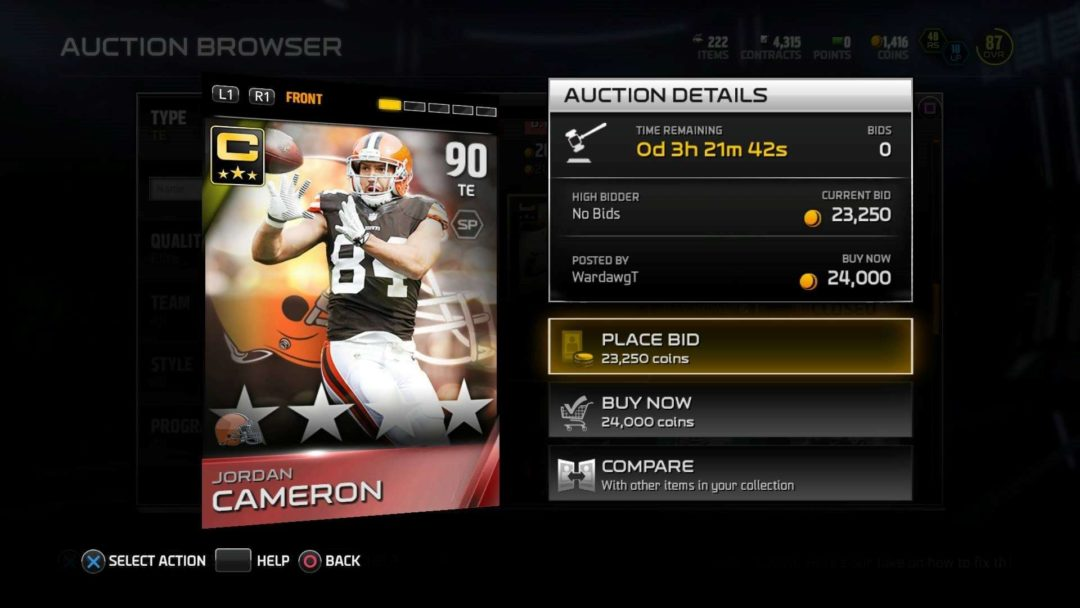 madden15 ultimate_team_Tips_jordan_cameron