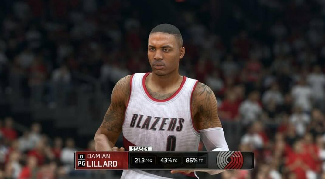 NBA_LIVE_15_Review_Midterm_Grades_Damian_lliard