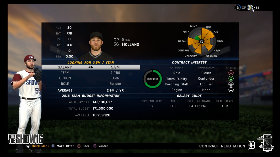 mlb the show 16 franchise