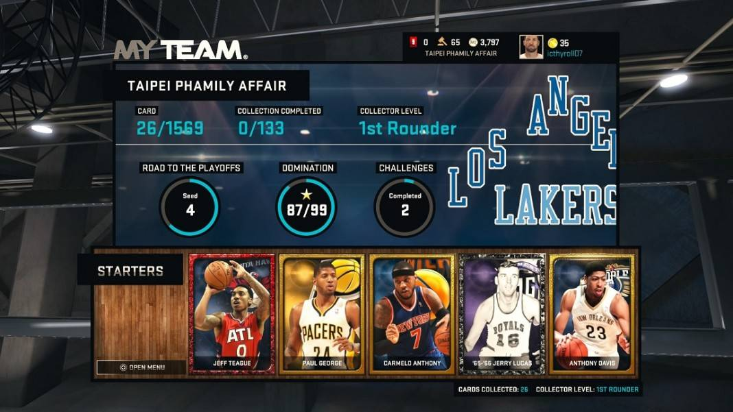 NBA 2K15_Myteam_Building_Bench