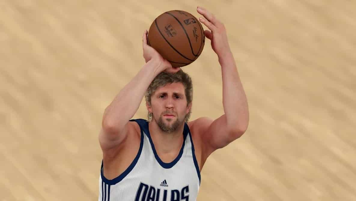 NBA 2K22 Cover Athlete Dirk Nowitski