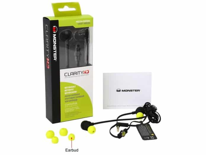 Monster Clarity HD In Ear Headphones-4