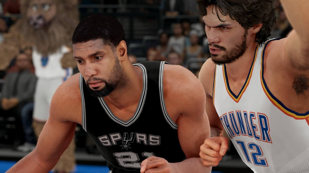 NBA 2K16 Roster Update Tim Duncan