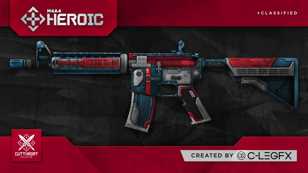 danny trejo-cutthroat collection-heroic m4a4