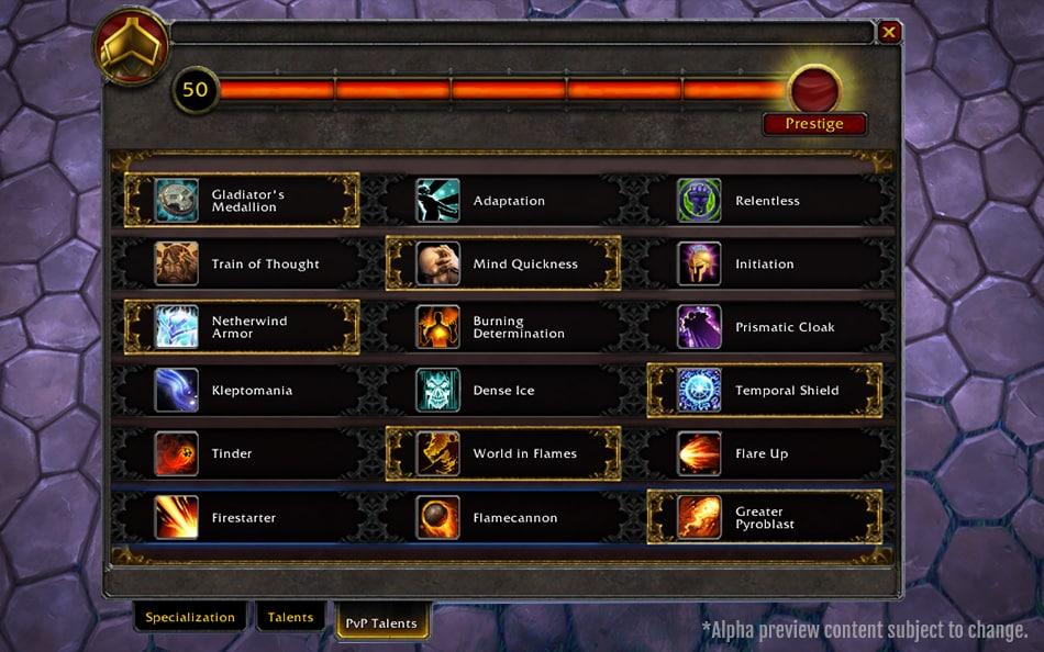 legion-honor levels