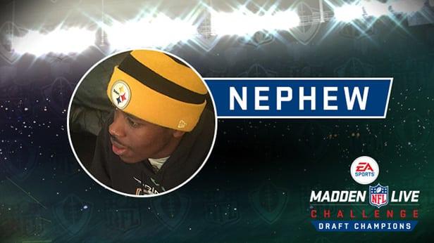 madden nfl live challenge draft champions invitational-nephew