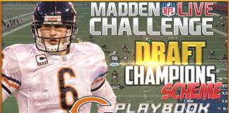 Madden 16 Draft Champions Bears Scheme