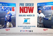 mlb 16 the show released