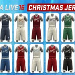 nba live 16 content update-2-christmas jerseys