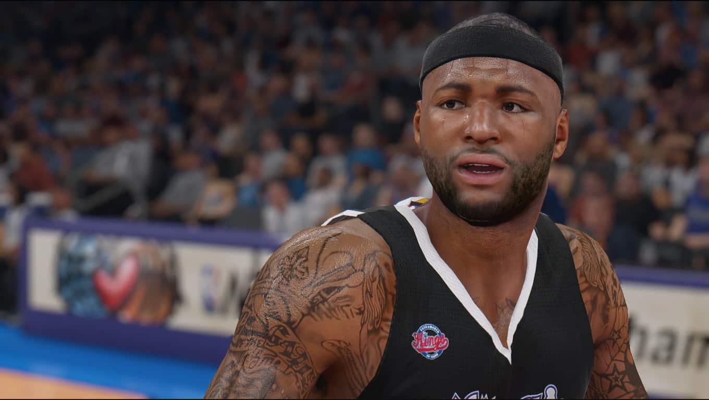 NBA 2K16 Roster Update demarcus cousins