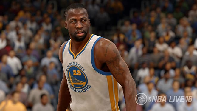 nba live 16 roster update draymond green