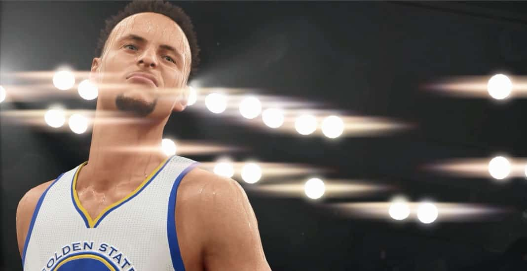 Steph Curry nba2k