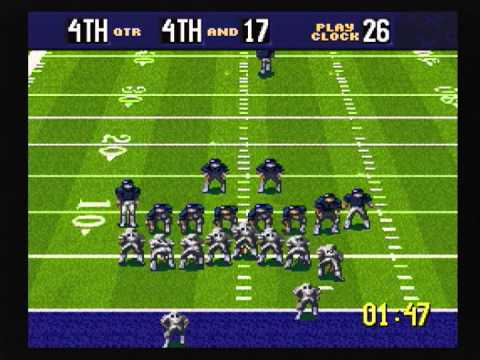 For a comparison, here's what QB Club looked like on the Super Nintendo