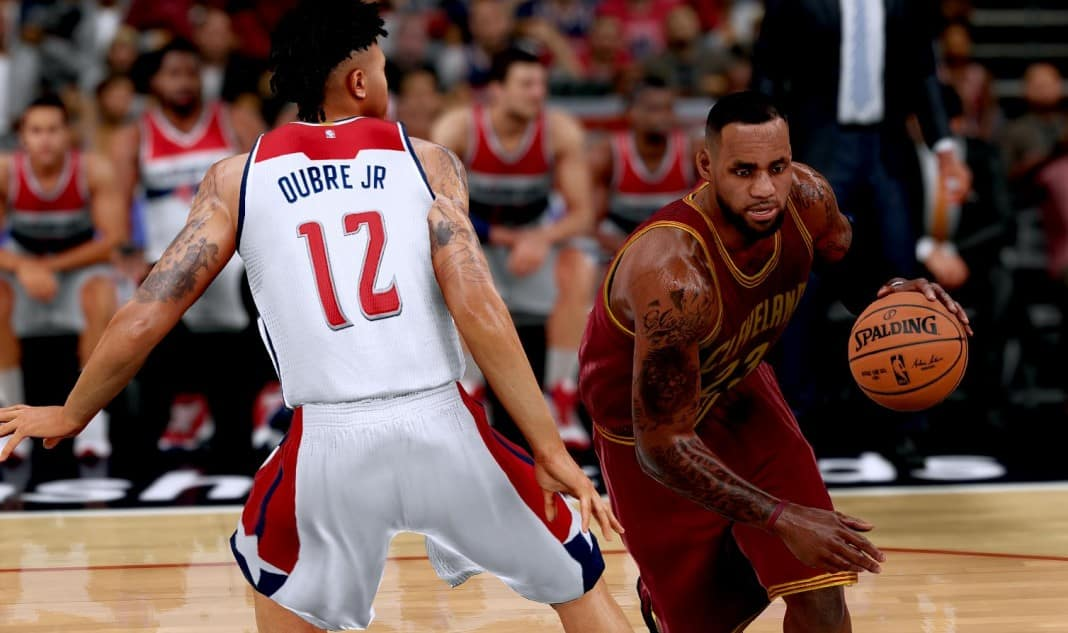 nba 2k lebron james