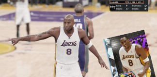 NBA 2K16 MyTeam Diamond Kobe Bryant Review