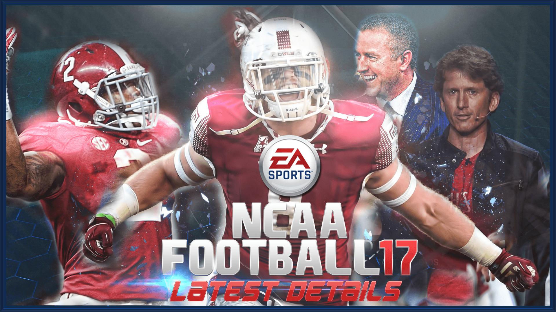 NCAA Football 17 Update update herbstreet howard