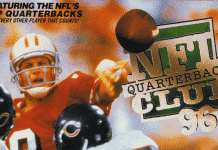 throwback sports NFL Quarterback Club 96