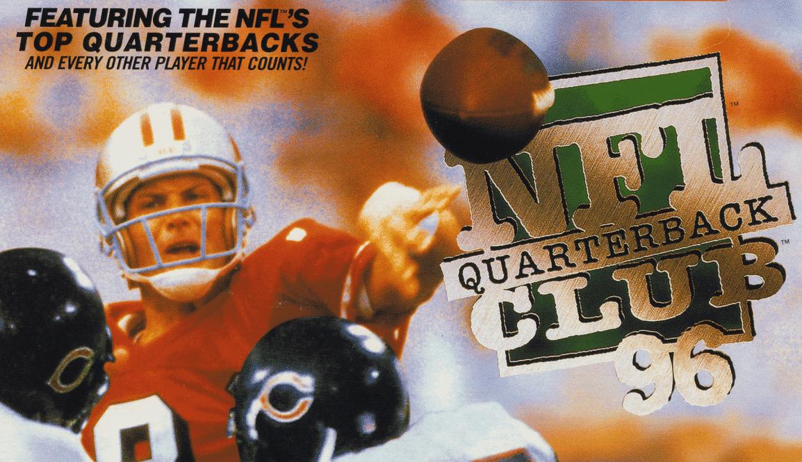 throwback sports NFL Quarterback Club 96