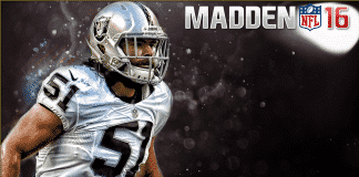 Madden 16 Connected Franchise Sleeper Cover Linebacker