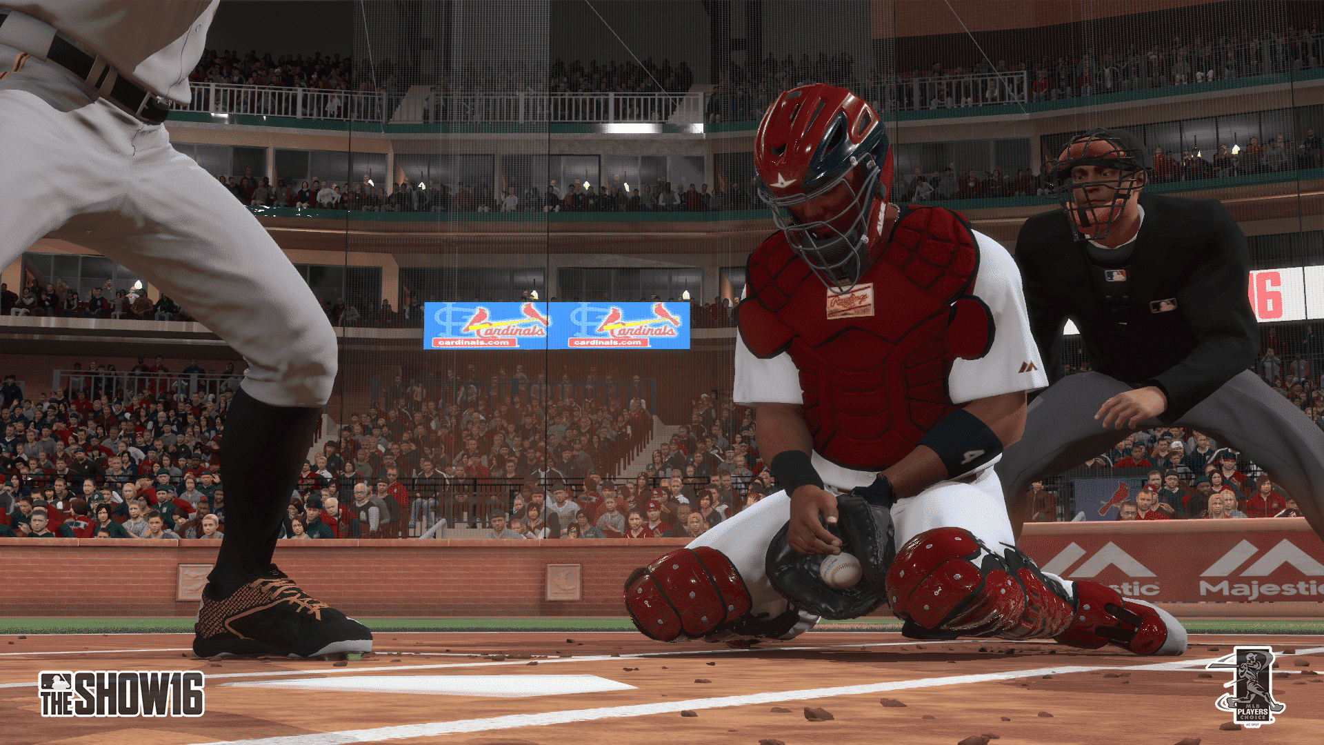 mlb16 molina catch