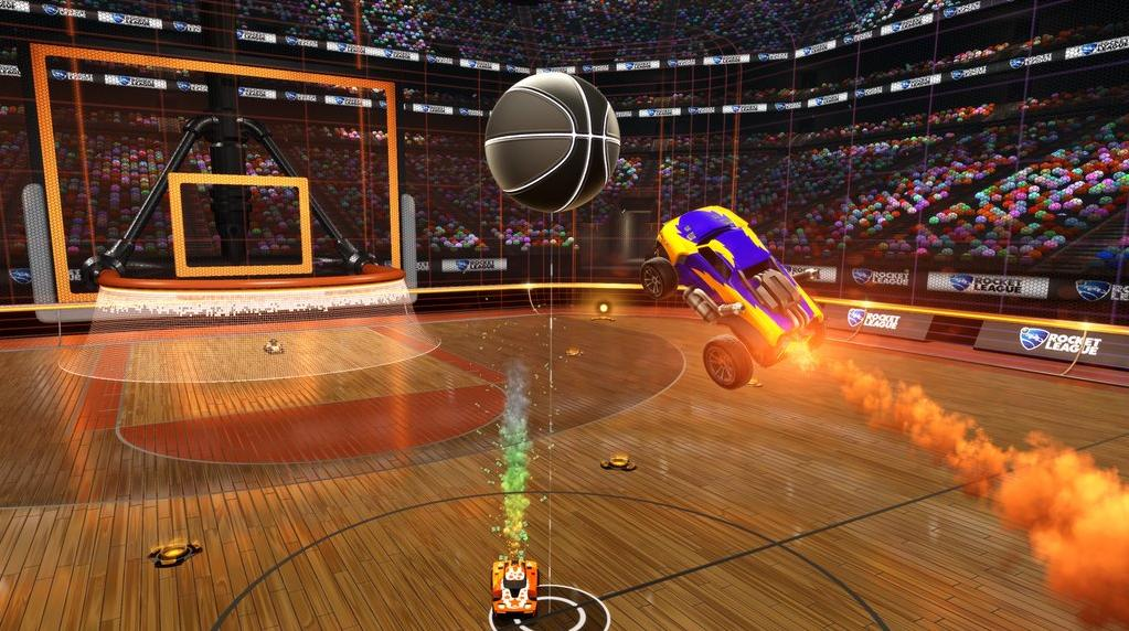rocket league basketball