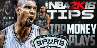 NBA 2K16 Offensive Tips top money cutter plays spurs