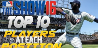 MLB The Show 16 Top 10 Players