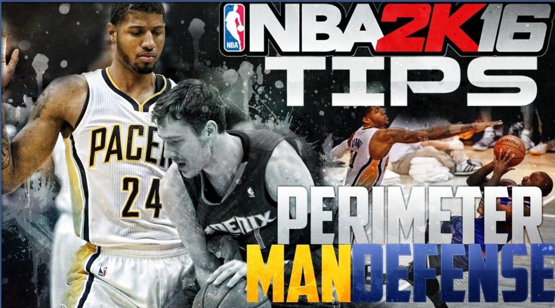 NBA 2K16 Defensive Tips Permiter Defense