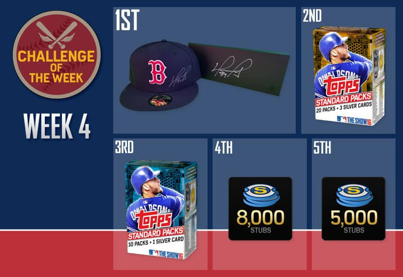 MLB The Show 16 Challenge of the Week 4