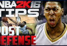 NBA 2K16 Defensive Tips Post Defense