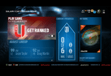 Salary Cap Ranked Home page