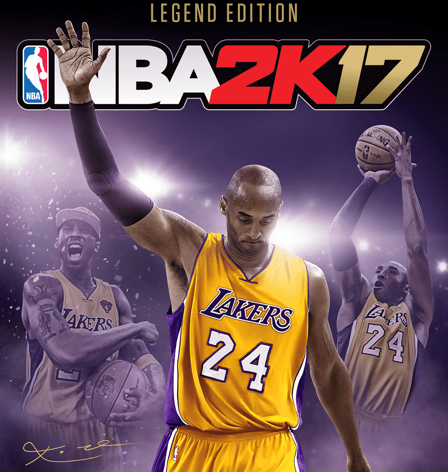 finest selection 8c737 61e06 NBA 2K17 Honors Kobe Bryant With Legend Edition