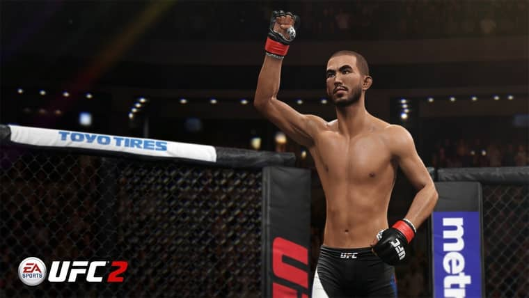 EA Sports UFC 2 content update louis smolka