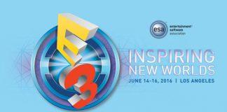 e3 2016 press conference schedule logo