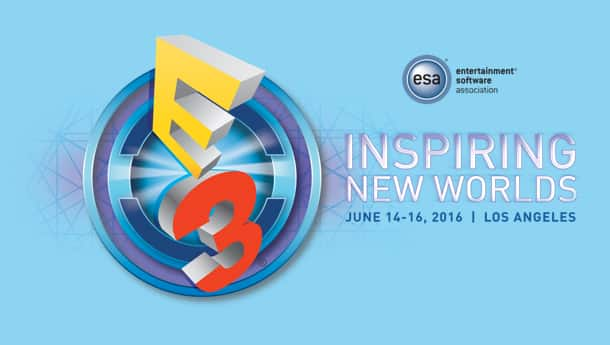 e3 2016 press conference schedule logo