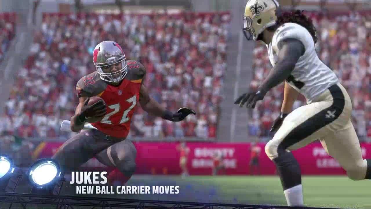 Madden 17 Gameplay Trailer Juke Moves