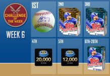 mlb the show 16 challenge of the week