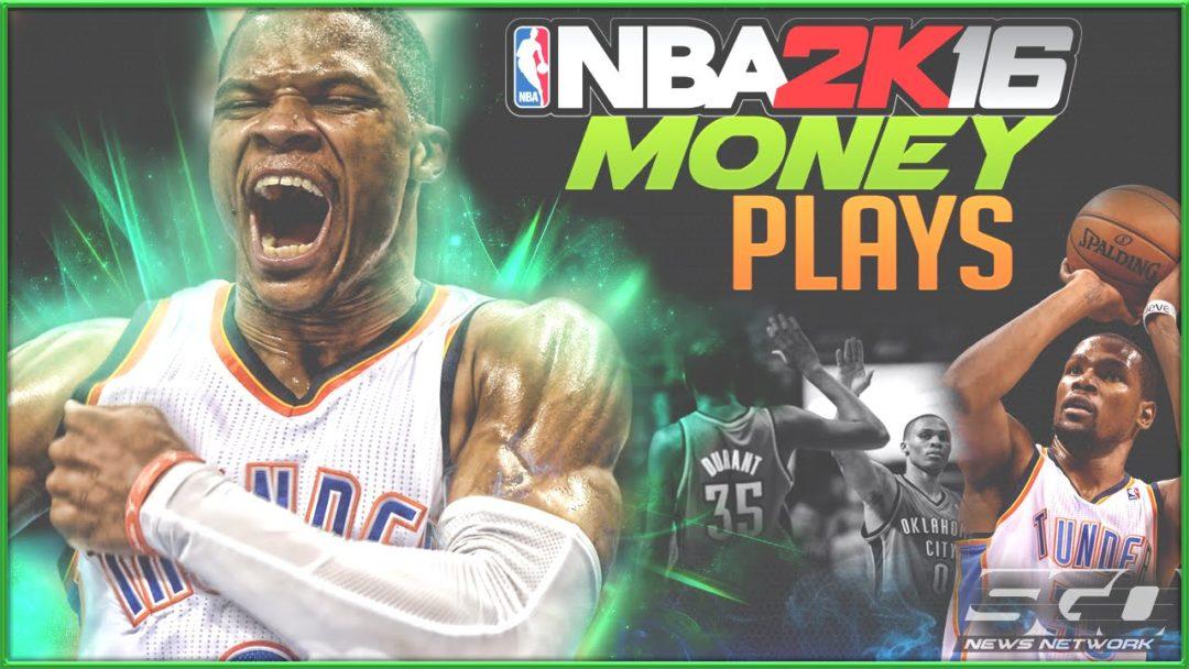 NBA 2K16 Offensive Tips Money Plays OKC