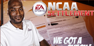 ea sports ncaa football settlment check