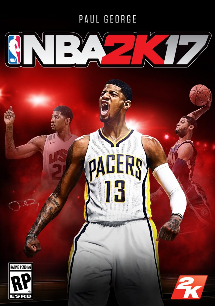 nba 2k17 cover paul george