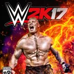 wwe 2k17 cover athlete brock lesner ps3