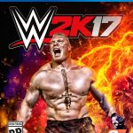 wwe 2k17 cover athlete brock lesner ps4