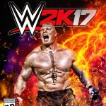 wwe 2k17 cover athlete brock lesner xbox one