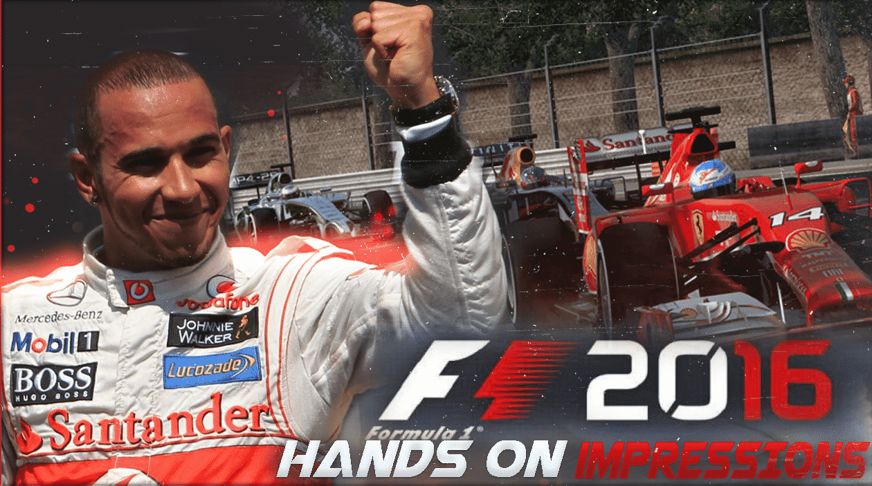 F1 2016 hands on